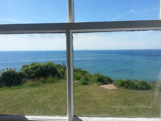 Gay Head Light  (Aquinnah Light): views from a window in the lighthouse...just charming