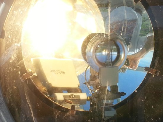 Gay Head Light  (Aquinnah Light) : Ever wonder what a lightbulb in a lighthouse looks like up close.  Here you go!
