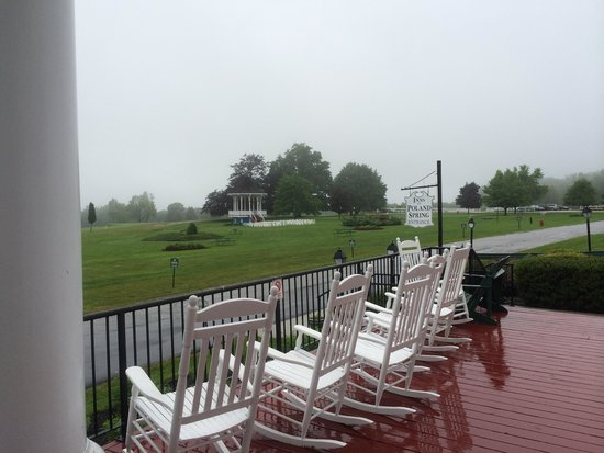Poland Spring Resort: View from the Front Porch
