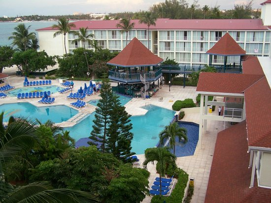 Breezes Resort & Spa Bahamas : View from Sixth-Floor Room