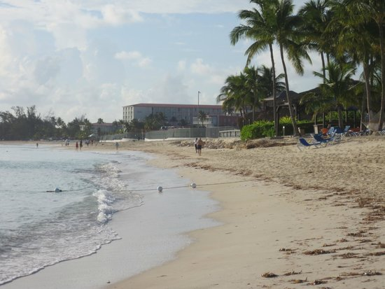 Breezes Resort & Spa Bahamas : Early Morning Walk on Beach Strip