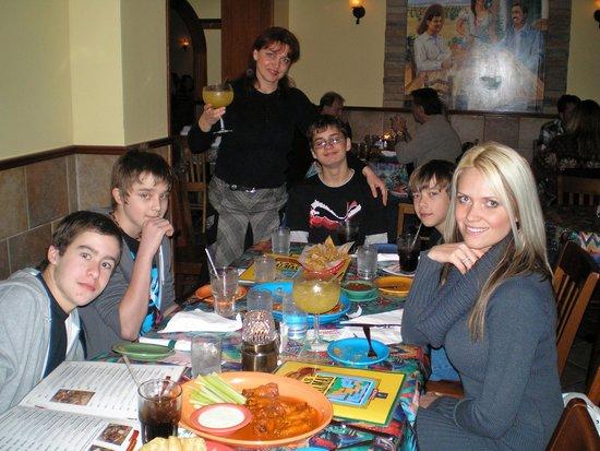 Las Palmas Mexican Restaurant: My son's birthday party at Las Palmas