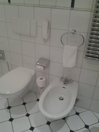 Schlosshotel Hugenpoet: bathroom toilet and bidet