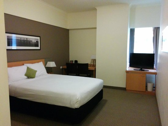 ibis Brisbane: Nice and roomy