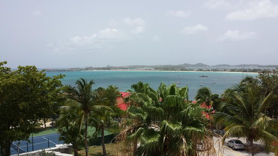 Simpson Bay Resort & Marina: The beautiful view!
