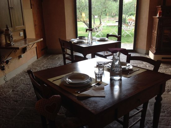 L'Ozio in Collina : View from our dining table