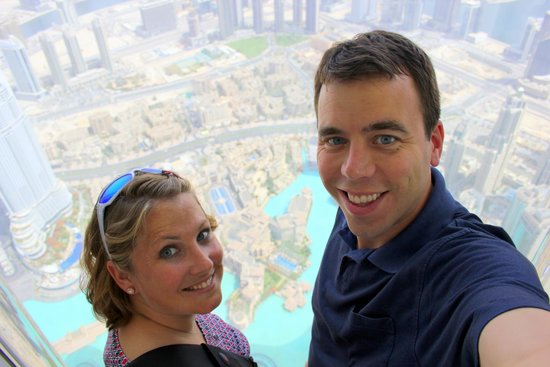 Burj Khalifa: Us at the Top