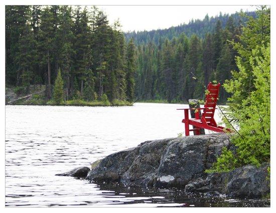 Star Lake Resort: outstanding seating lake side