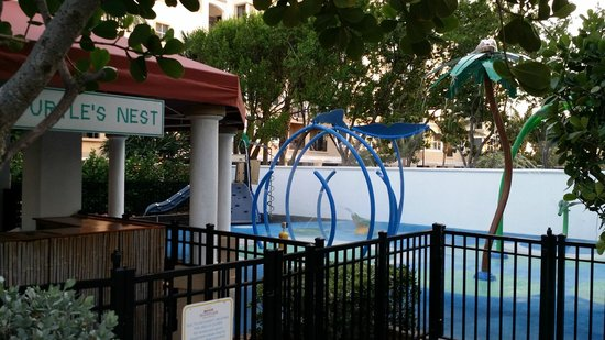 Marriott's Ocean Pointe : Kiddie water splash zone