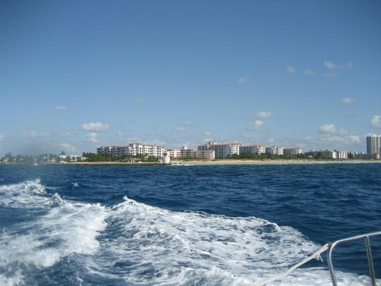 Marriott's Ocean Pointe : Resort from the ocean