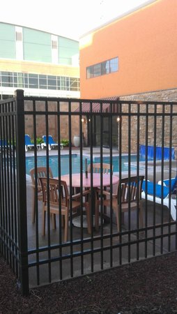 Stoney Creek Hotel & Conference Center - Sioux City: View of the Outdoor side of the Pool