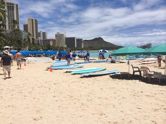 Hilton Hawaiian Village Waikiki Beach Resort : Some other hotels are nearer to this