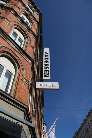 Andersen Boutique Hotel: Outside Hotel Ground