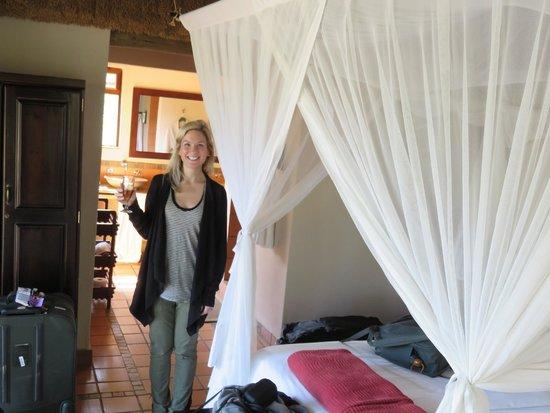 Toro Yaka Bush Lodge : Lion Room
