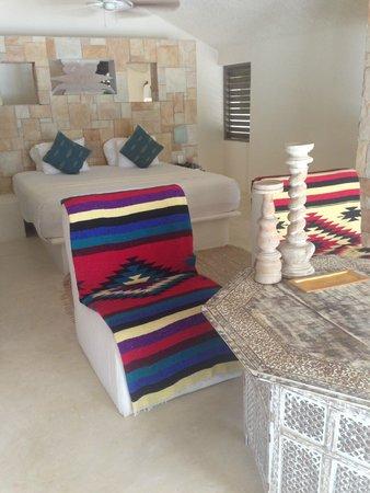 Las Ranitas Eco-boutique Hotel : Bedroom