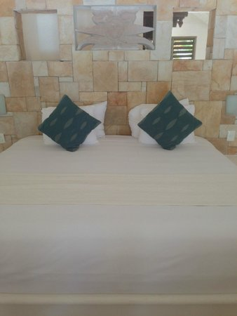 Las Ranitas Eco-boutique Hotel: Bed