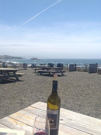 Pacific Star Winery : perfect place for a picnic