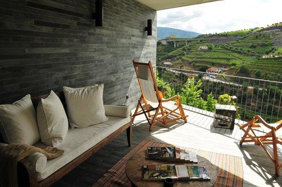 Quinta do Vallado: Outdoor Terrace