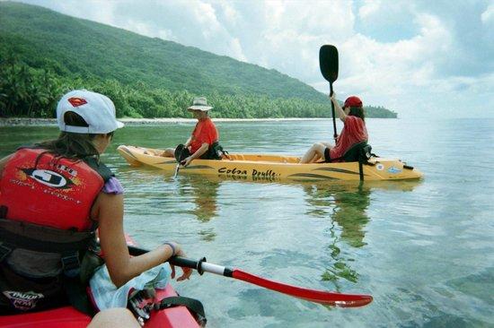 Papageno Resort: kayaking