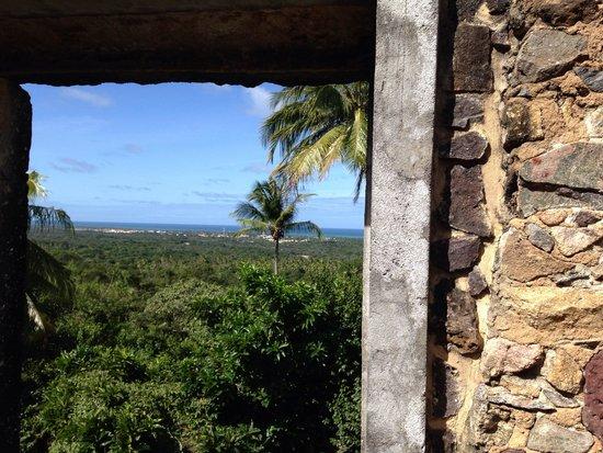 Praia do Forte: Vista da fortaleza