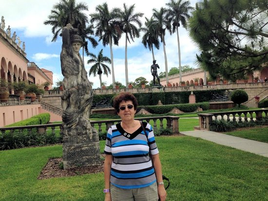 The Ringling: Sculptures in the Museum courtyard