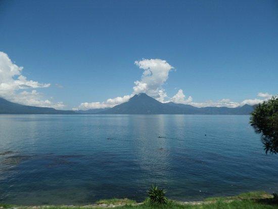 Paragliding Panajachel: Lago hermoso