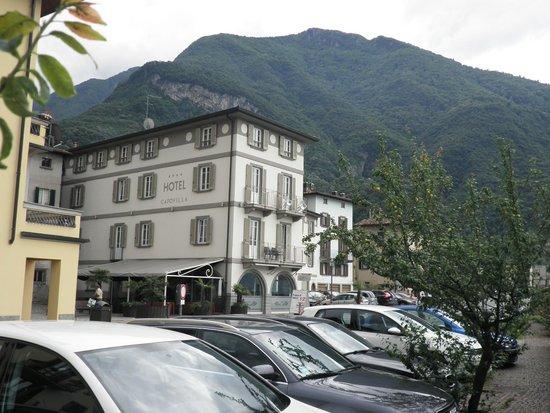 Hotel Capovilla: view from the road