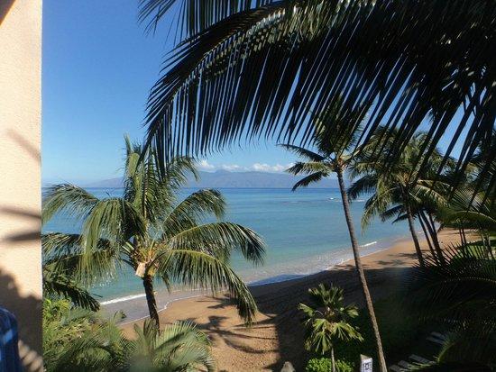 Kahana Beach Resort: View from Balcony