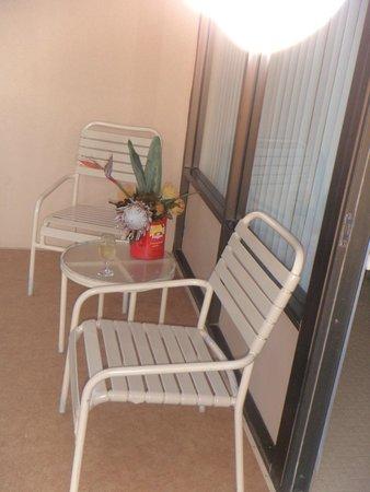 Kahana Beach Resort: Balcony