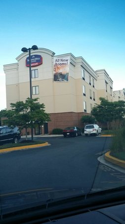 hotel exterior picture of springhill suites by marriott. Black Bedroom Furniture Sets. Home Design Ideas