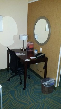 SpringHill Suites by Marriott Annapolis: In-room desk