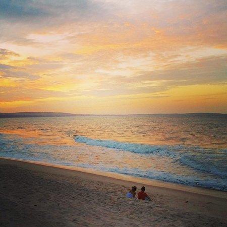 Green Coconut Resort: sunrise