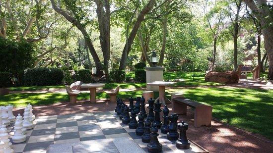 Los Abrigados Resort and Spa: Chess park