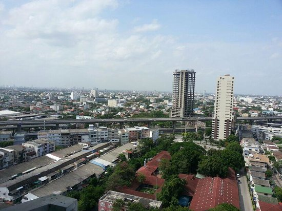 Avana Bangkok Hotel: refreshing view from the room