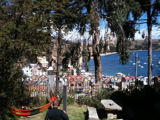Hotel La Cupula: Jardinet et hamac
