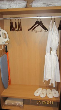 Catalonia Playa Maroma: they provide two robes & slippers, iron, and umbrella