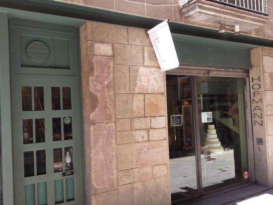 Vista establecimiento Pastisseria HOFMANN (Barcelona)