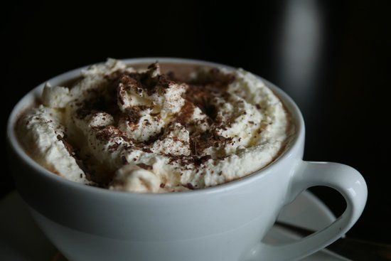 ION Adventure Hotel: Tasty Whipped Chocolate Drink