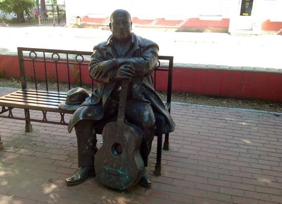 Тверь, Россия: Михаил Круг на бульваре Радищева