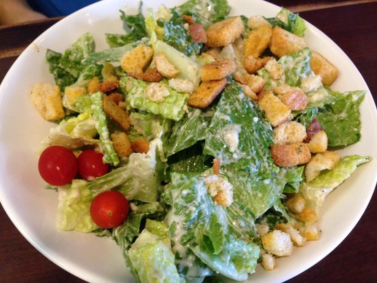 The Alley at Aiea Bowl: Caesar Salad enough for family style dining