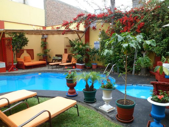 Peru Star Botique Apartments Hotel : Piscina