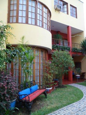 Peru Star Botique Apartments Hotel: Área comum