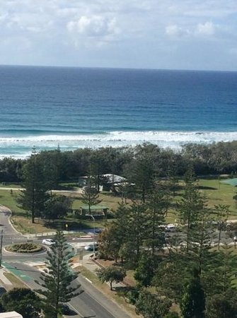 Ultra Broadbeach : view from our room at the Ultra