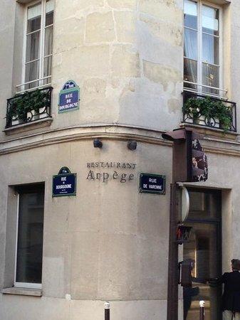 L'Arpege : Restaurant Arpege