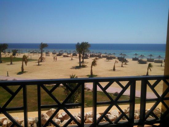 White Shark Travel-Tours: View from room at Azur - Berenice, Egypt.