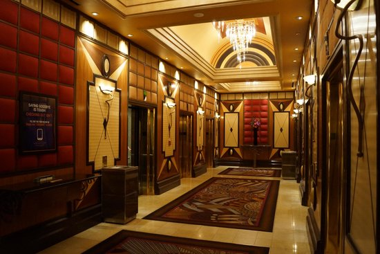 MGM Grand Hotel and Casino : elevators in the Grand tower