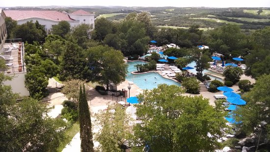 La Cantera Resort & Spa: view from our room