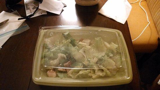 La Cantera Resort & Spa: Caesar salad that should've been put back