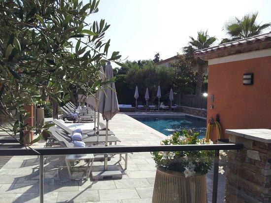 Hotel Le Mouillage : Pool