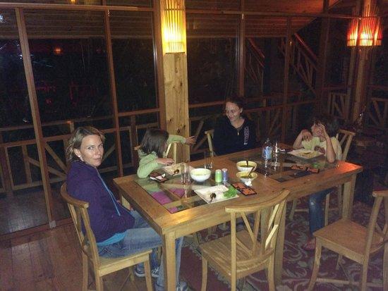 King Fern Cottage : Dinner